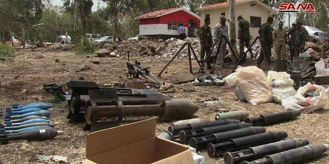 Quân đội Syria chiếm giữ lượng vũ khí khổng lồ của phe thánh chiến ở Homs ảnh 1