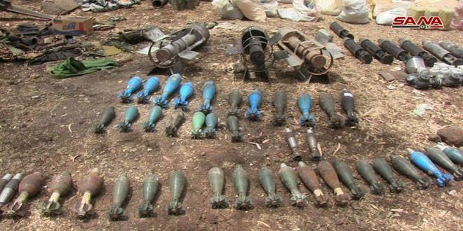 Quân đội Syria chiếm giữ lượng vũ khí khổng lồ của phe thánh chiến ở Homs ảnh 2