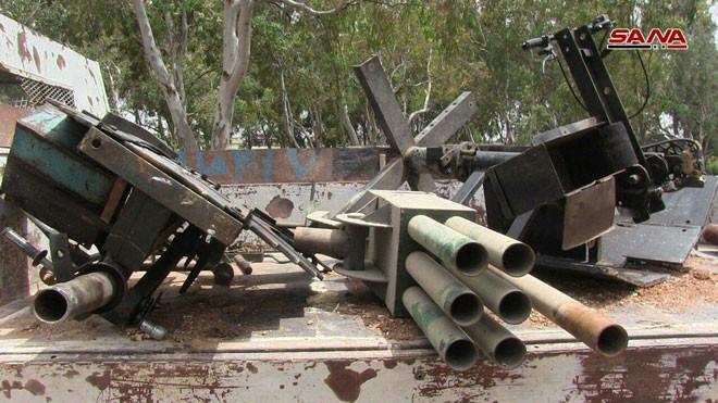 Quân đội Syria chiếm giữ lượng vũ khí khổng lồ của phe thánh chiến ở Homs ảnh 3