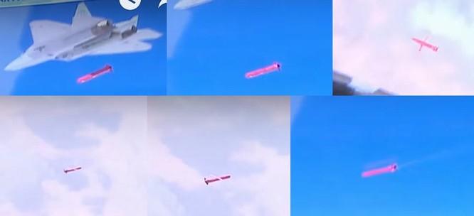 Su-57 Nga xuất trận nã tên lửa tấn công khủng bố tại Syria ảnh 1