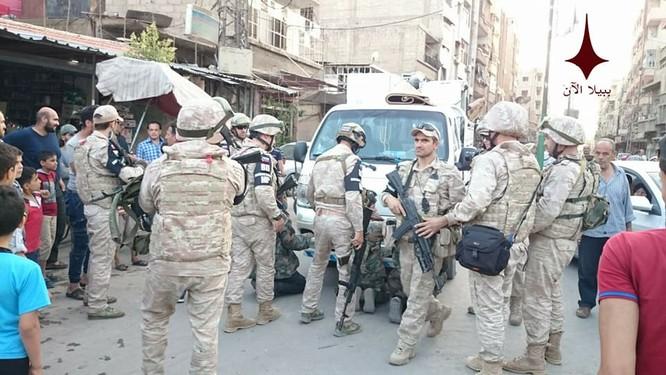 Quân cảnh Nga, Syria bắt giữ hơn 20 binh sĩ vì tội cướp ở Damascus ảnh 2