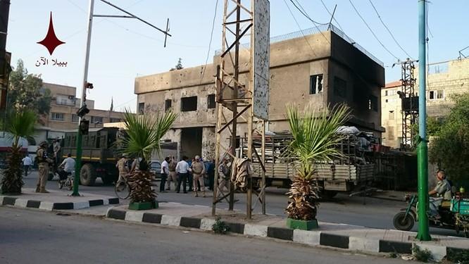 Quân cảnh Nga, Syria bắt giữ hơn 20 binh sĩ vì tội cướp ở Damascus ảnh 4