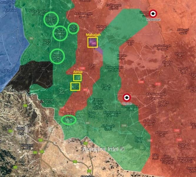 """Quân đội Syria dồn binh diệt thánh chiến, Nga cố gắng thuyết phục phe """"nổi dậy"""" đầu hàng ảnh 1"""