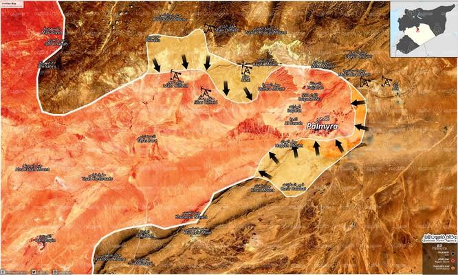 Xạ thủ bắn tỉa Nga xung trận đập tan phiến quân Syria tập kích ở Palmyra ảnh 1