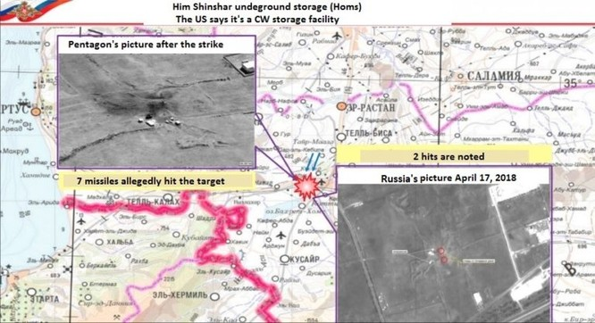 """Liên quân Mỹ-Anh-Pháp tấn công tên lửa Syria: """"Quà"""" vô giá tặng Nga ảnh 2"""