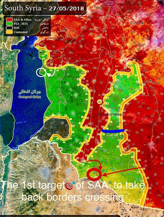 """Iran có thể rút quân, Nga-Syria """"đạn lên nòng"""" diệt thánh chiến miền nam ảnh 3"""