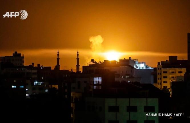 Israel dồn dập giáng đòn trả đũa lực lượng Hamas Palestine ảnh 1