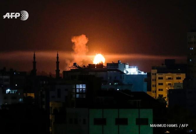 Israel dồn dập giáng đòn trả đũa lực lượng Hamas Palestine ảnh 2