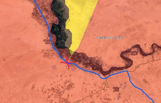 Syria-Iraq sắp thông biên giới ở Abukamal, Iran tăng cường binh lực bảo vệ ảnh 1