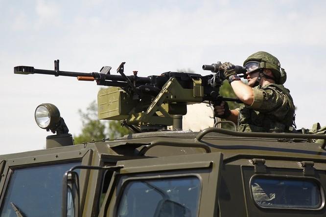 Khả năng hủy diệt khủng khiếp của súng máy 12,7mm Kord Nga ảnh 2