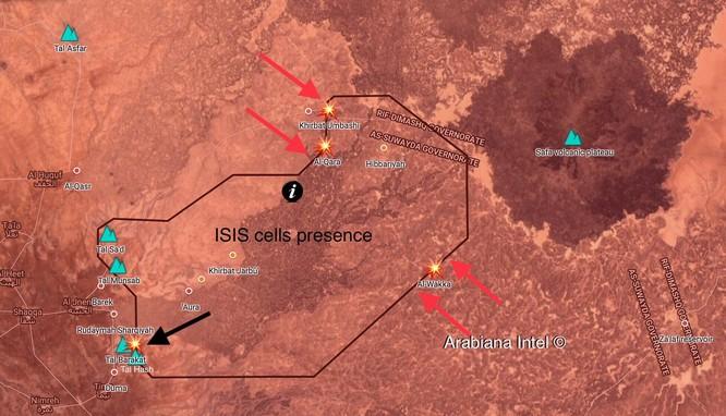 Quân đội Syria tập trung binh lực, tung chiến dịch tiêu diệt thánh chiến ở Sweida ảnh 1