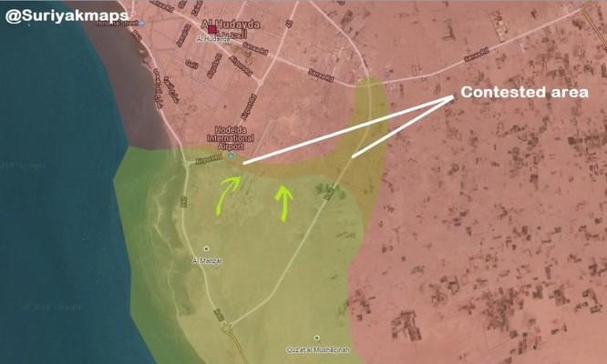 Houthi ngoan cường chiến đấu, liên minh Ả rập Xê út sa lầy trong thành phố cảng Yemen ảnh 1