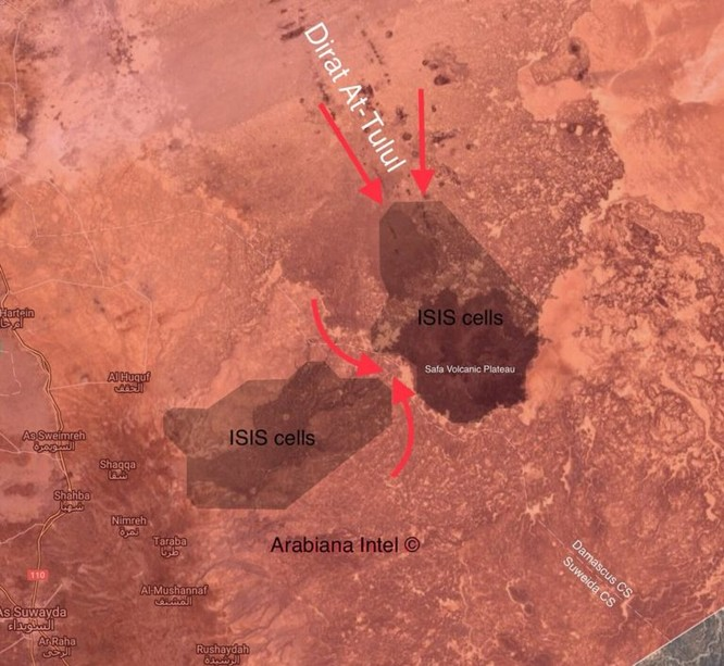 Vệ binh Cộng hòa chia cắt, tiêu diệt IS trong hoang mạc Sweida ảnh 1