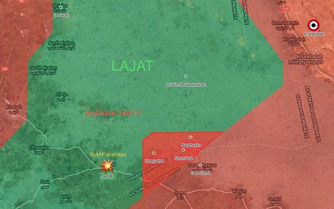 """""""Hổ Syria"""" giải phóng liên tiếp 7 khu dân cư, chuẩn bị bao vây thị trấn Al-Busra Harir ảnh 2"""