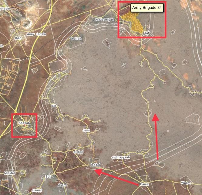 """""""Hổ Syria"""" giải phóng liên tiếp 7 khu dân cư, chuẩn bị bao vây thị trấn Al-Busra Harir ảnh 3"""