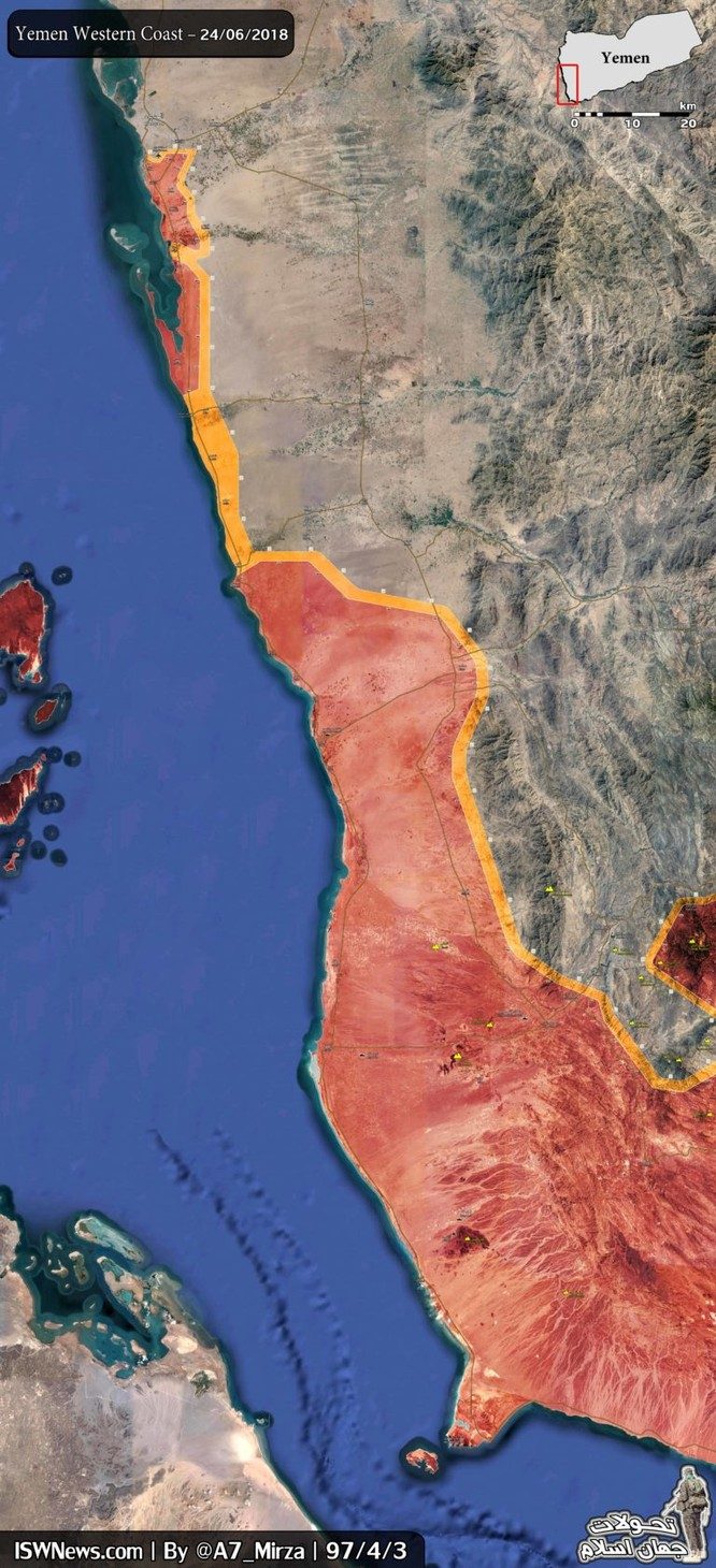 Houthi đánh bại cuộc tấn công, cắt đứt đường tiếp vận của Ả rập Xê út – UAE ảnh 1