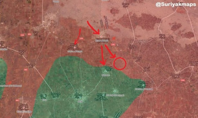 """""""Hổ Syria"""" đánh bạt khủng bố, giải phóng các làng cửa ngõ vào thành phố Daraa ảnh 2"""