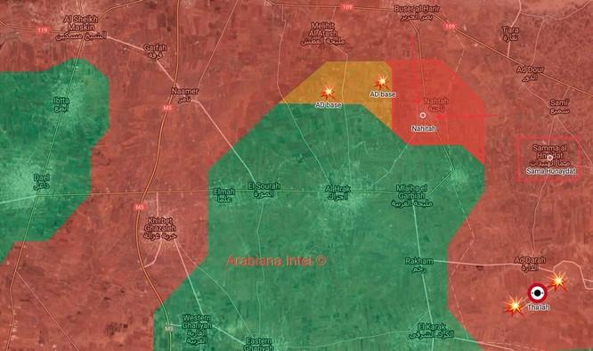 """""""Hổ Syria"""" đánh bạt khủng bố, giải phóng các làng cửa ngõ vào thành phố Daraa ảnh 3"""