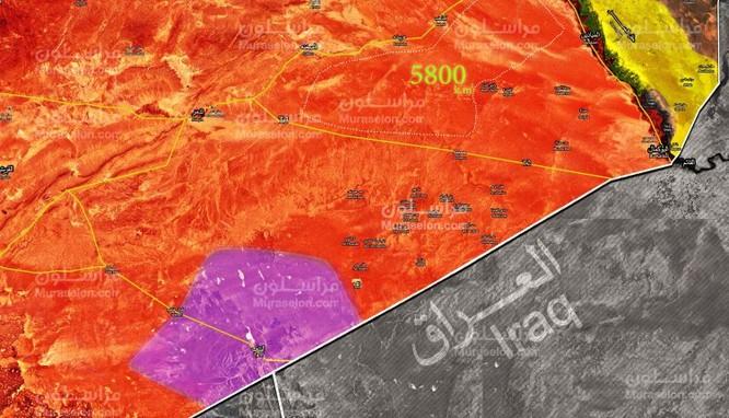Quân đội Syria truy quét mãnh liệt IS, giải phóng đến 5800 km2 sa mạc Deir Ezzor ảnh 1