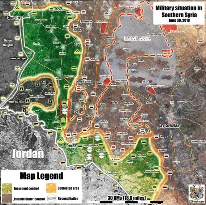 Hòa đàm Syria thất bại, quân thánh chiến bắt đầu IS hóa ở Daraa ảnh 1