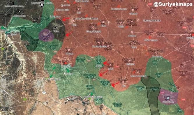 Quân Assad thắng liên tiếp, Nga-Syria thúc đẩy hòa giải ở vùng đông bắc Daraa ảnh 1