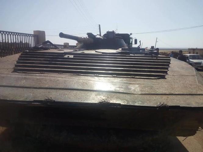 Phe thánh chiến Syria đầu hàng, nộp vũ khí hạng nặng cho quân chính phủ ở Daraa ảnh 1