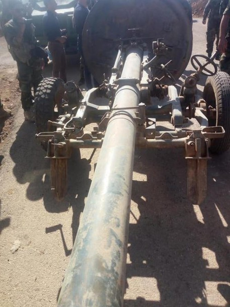 Phe thánh chiến Syria đầu hàng, nộp vũ khí hạng nặng cho quân chính phủ ở Daraa ảnh 4