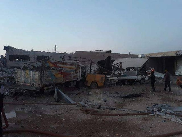 IS tấn công ở Deir Ezzor, 2 lính Mỹ thiệt mạng ảnh 1