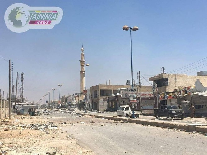 """""""Hổ Syria"""" xung trận nghiền nát FSA, giành chiến thắng ở đông nam Daraa ảnh 2"""