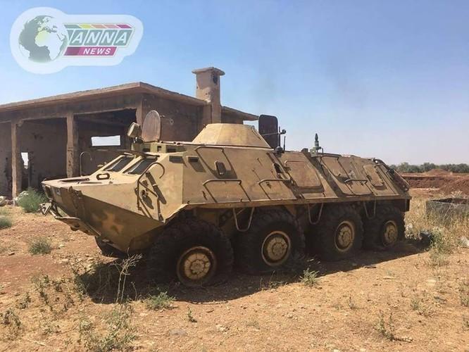 """""""Hổ Syria"""" xung trận nghiền nát FSA, giành chiến thắng ở đông nam Daraa ảnh 4"""