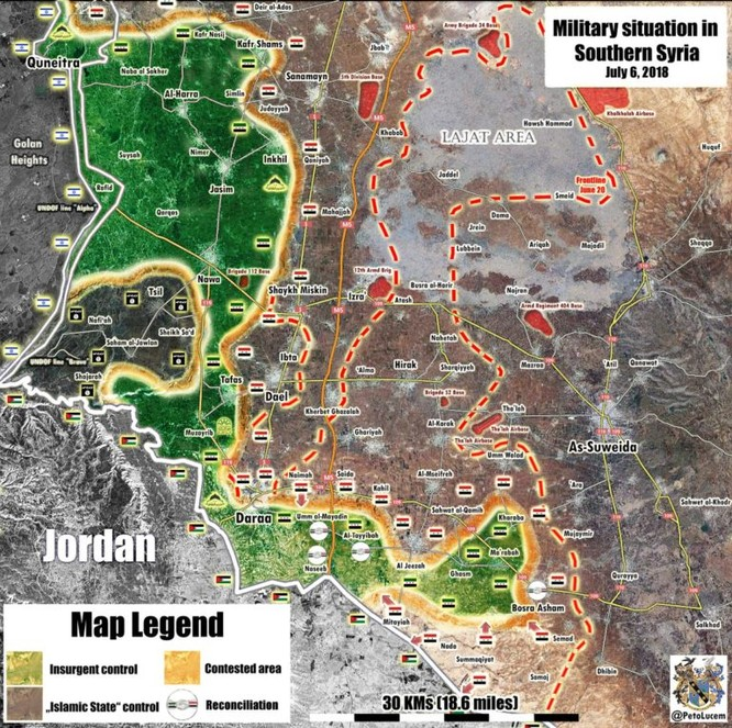Quân đội Syria chiếm hàng loạt cứ địa, tổ chức nổi dậy lớn nhất Syria chuẩn bị đầu hàng ảnh 2