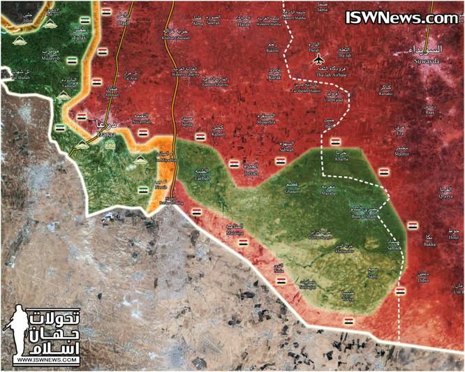 Nga yểm trợ quân đội Syria giải phóng hơn 70% chiến địa Daraa, FSA hoàn toàn sụp đổ ảnh 1