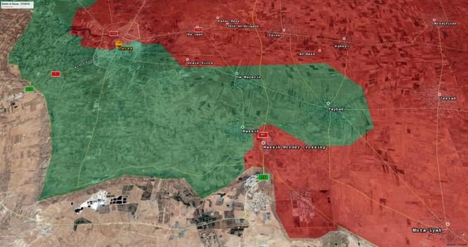 """""""Hổ Syria"""", sư đoàn cơ giới 4 giải phóng hàng trăm km2, sắp kết liễu thánh chiến tại Daraa ảnh 2"""