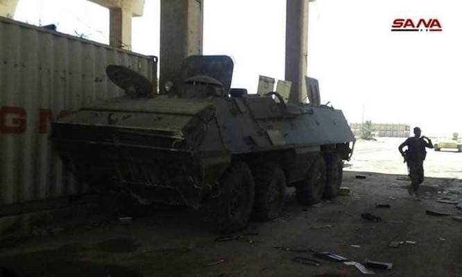 Quân cảnh Syria chiếm giữ lượng lớn vũ khí ở cửa khẩu biên giới Jordan ảnh 1