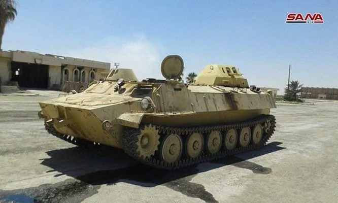 Quân cảnh Syria chiếm giữ lượng lớn vũ khí ở cửa khẩu biên giới Jordan ảnh 2