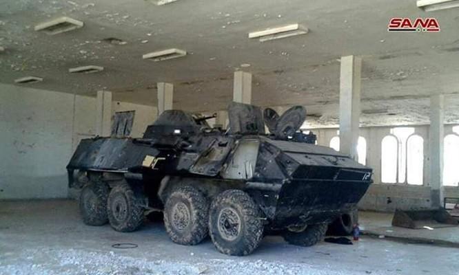 Quân cảnh Syria chiếm giữ lượng lớn vũ khí ở cửa khẩu biên giới Jordan ảnh 4