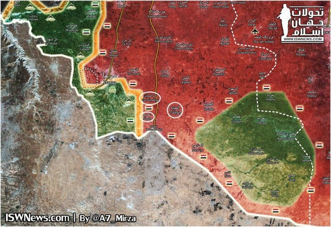 Quân tinh nhuệ Syria đè bẹp FSA, vây chặt hàng ngàn tay súng thánh chiến tại Daraa ảnh 1