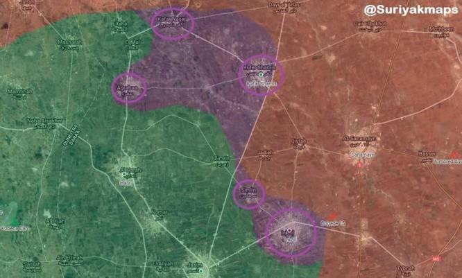 Quân đội Syria thu hẹp vòng vây ở Daraa, phe thánh chiến tuyệt vọng sắp đầu hàng ảnh 2