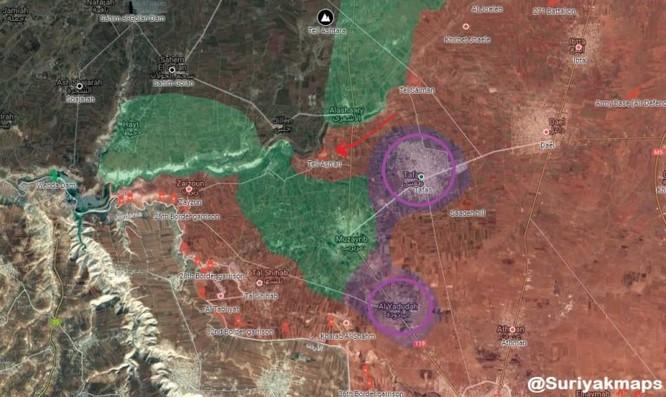 Quân đội Syria thu hẹp vòng vây ở Daraa, phe thánh chiến tuyệt vọng sắp đầu hàng ảnh 1