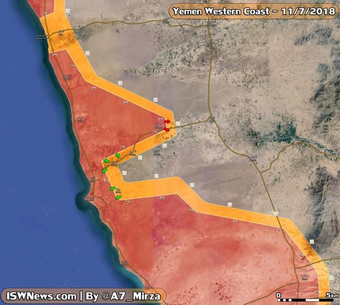 Ả rập Xê út sa lầy tại Yemen, Houthi liên tục phóng tên lửa tấn công liên quân vùng Vịnh ảnh 1