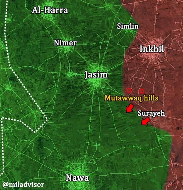 """""""Hổ Syria"""" chủ công nghiền nát thánh chiến, chiếm hàng loạt cứ địa tại nam Daraa ảnh 1"""