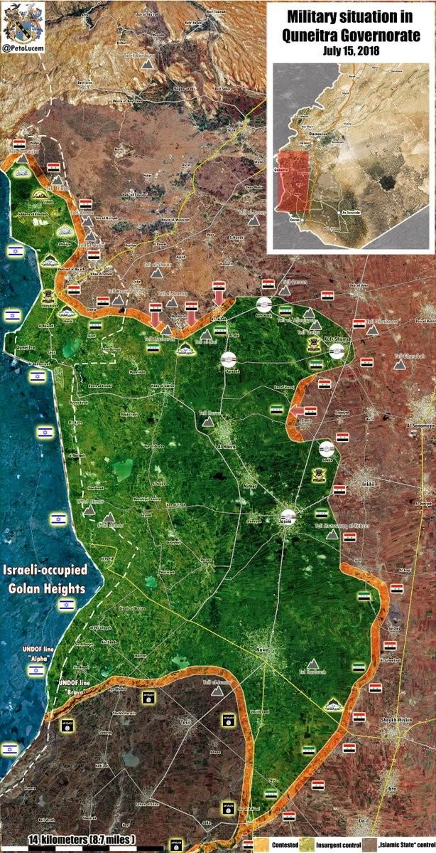 """""""Hổ Syria"""" đánh bạt phiến quân Al-Qaeda, đoạt cứ địa ở tây bắc Daraa ảnh 1"""