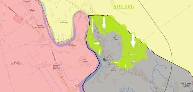 Người Kurd Syria càn quét thung lũng Deir Ezzor, IS phản công chiếm mỏ dầu ảnh 1