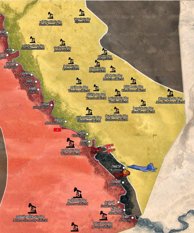 Người Kurd Syria càn quét thung lũng Deir Ezzor, IS phản công chiếm mỏ dầu ảnh 2