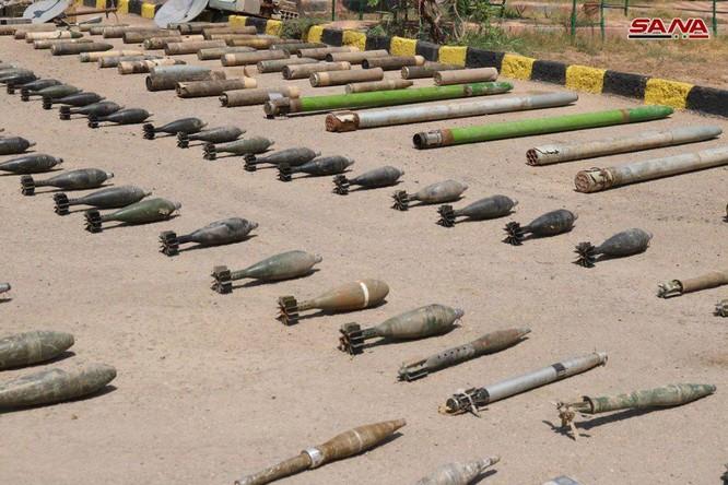 Quân đội Syria phát hiện hầm ngầm vũ khí của IS ở Deir Ezzor ảnh 3