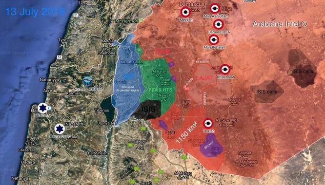 """""""Hổ Syria"""" xung trận quét sạch 1.150 km2, chiến tuyến phe nổi dậy sụp đổ ảnh 1"""