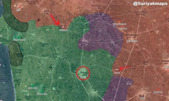 Quân tinh nhuệ Syria ồ ạt đánh chiếm hàng chục cứ địa thánh chiến ở tây Daraa ảnh 1