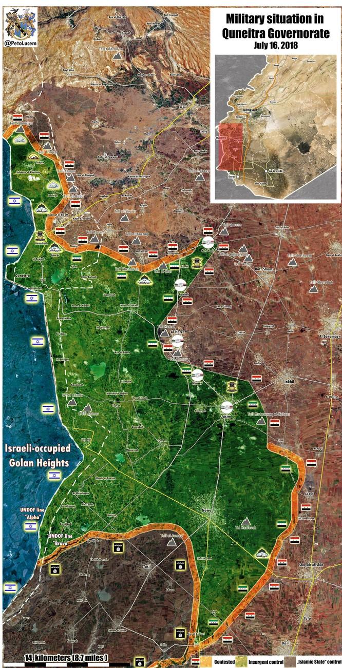 """""""Hổ Syria"""" đánh đòn quyết định kết liễu thánh chiến ở Daraa ảnh 1"""