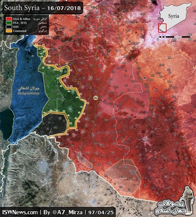 """""""Hổ Syria"""" đánh đòn quyết định kết liễu thánh chiến ở Daraa ảnh 2"""