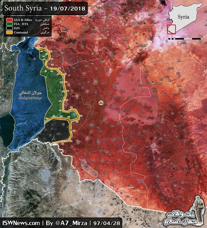 Quân đội Syria nghiền nát thánh chiến, giải phóng hầu hết tỉnh Quneitra ảnh 2